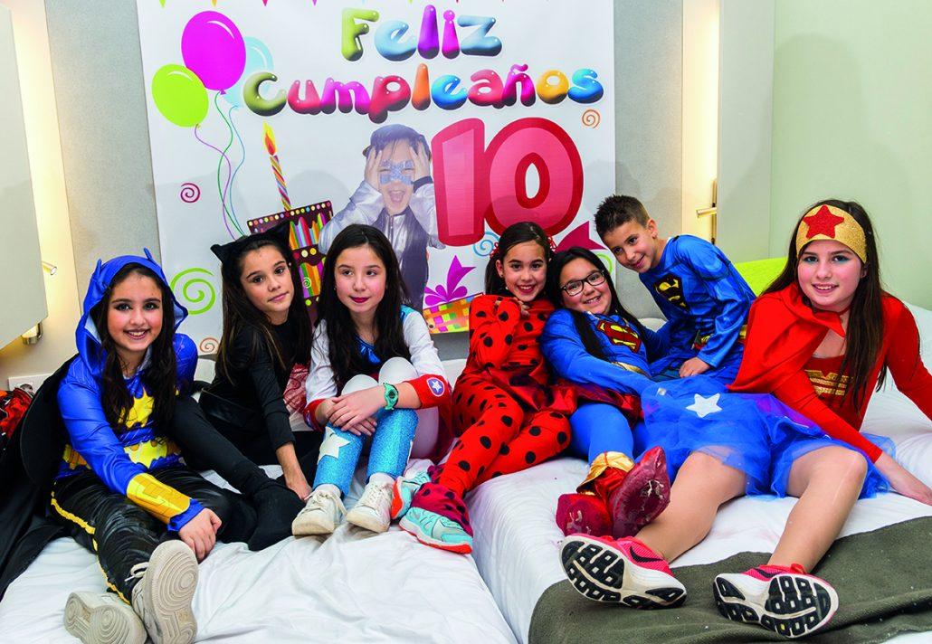 76b4d6f84 CampaKids – Noche de pijamas y fiestas de cumpleaños en Hotel ...