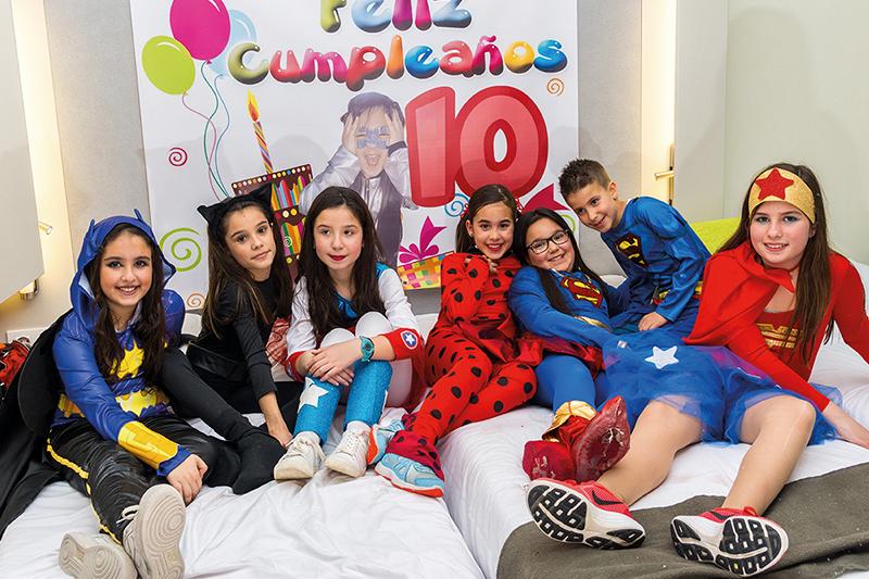 36d2c16e11 CampaKids – Noche de pijamas y fiestas de cumpleaños en Hotel ...